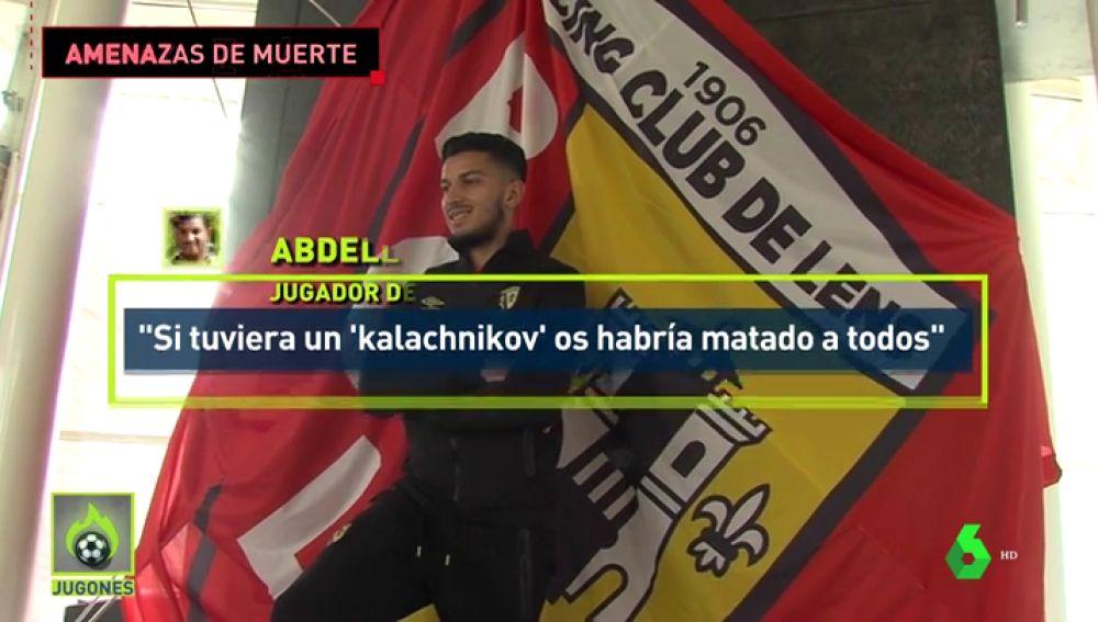 Un jugador francés del Lens amenaza a los últras de su equipo