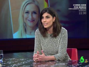 La periodista que ha destapado el escándalo de Cifuentes, Raquel Ejerique