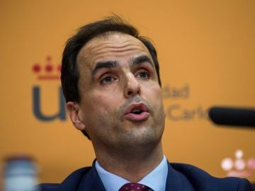 El rector del Universidad Rey Juan Carlos (URJC), Javier Ramos