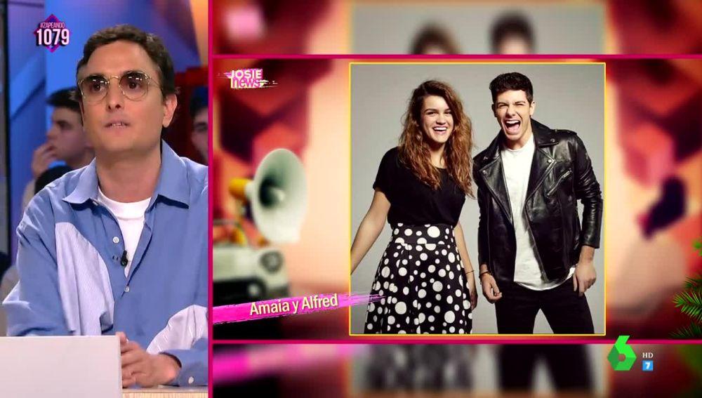 Josie aconseja a Alfred y Amaia cómo ir a Eurovisión