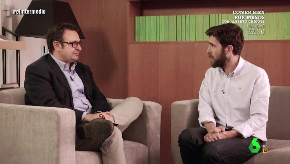 Gonzo entrevista en El Intermedio al profesor de Ciencia Política