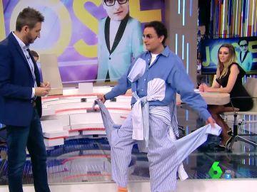 """El """"pijama teatral"""" de Josie"""
