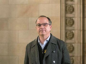 El candidato de JxCat para presidir la Generalitat Jordi Turull