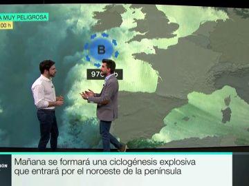 Estación laSexta (22/03/2018) completo: ¿Qué peligros trae la ciclogénesis explosiva que llega por el norte?