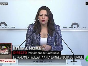 La líder de Ciudatans, Inés Arrimadas