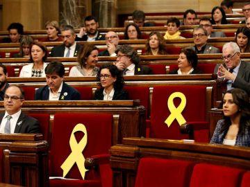 El Parlament catalán en una imagen de archivo.