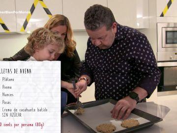 Alberto Chicote hace galletas de avena