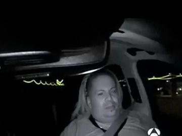 Interior de un coche autónomo Uber