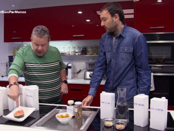 Alberto Chicote visita en Comer bien por menos a Aitor Sánchez