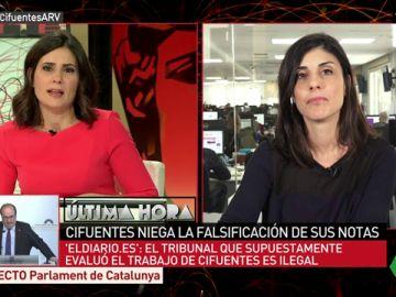 Raquel Ejerique, la periodista que destapó la supuesta falsificación de las notas de Cifuentes
