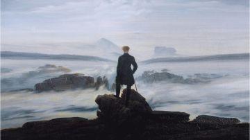 """""""El Caminante sobre un mar de nubes"""", de Friedrich, recoge perfectamente la tesis científica"""