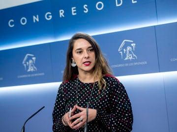 Noelia Vera, diputada de Unidos Podemos