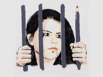 Zehra Dogan dibujada por Banksy