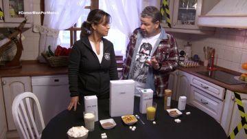 Alberto Chicote y Esperanza, en Comer bien por menos