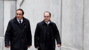 Jordi Turull y Josep Rull