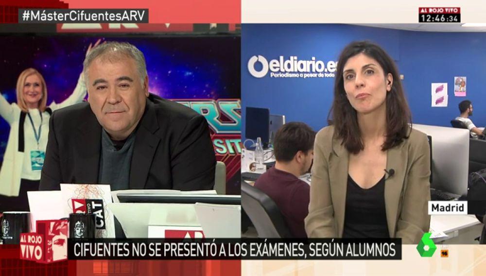 La periodista Raquel Ejerique
