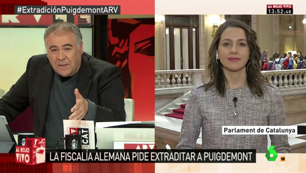 Inés Arrimadas, presidenta de Ciutadans