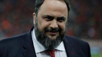 Marinakis, presidente del Olympiacos griego
