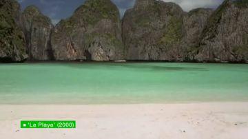 Cierran la playa de la película de Di Caprio por exceso de turistas