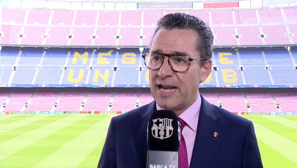 """El Barcelona responde a Javier Tebas: """"Sus palabras son inadmisibles"""""""