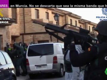 Policía y Guardia Civil desarticulan una banda de ladrones