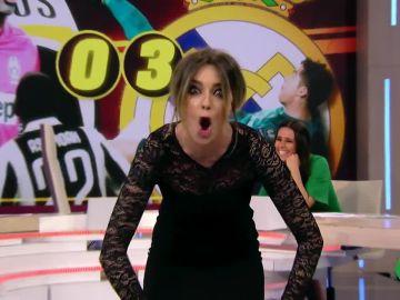 "La ""espectacular"" chilena de Anna Simon que hace ""temblar"" a Frank Blanco"