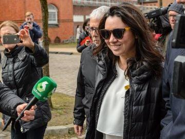Marcela Topor, mujer de Puigdemont