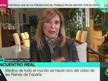 La experta en Casa Real Pilar Eyre