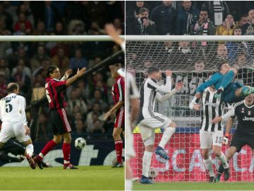 La volea de Zidane y la chilena de Cristiano