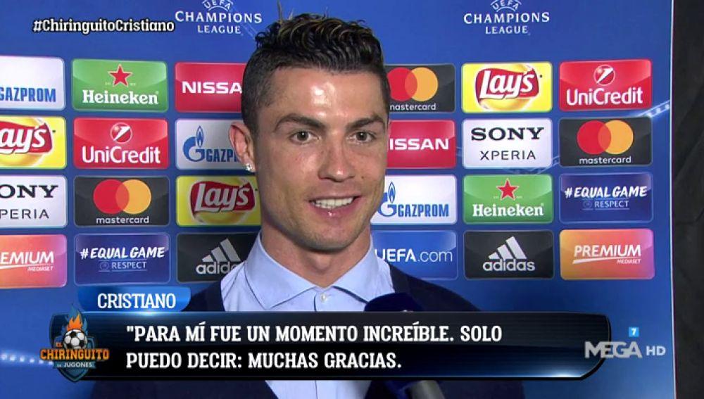 """Cristiano Ronaldo: """"Fue un gol extraordinario, doy las gracias a los aficionados de la Juventus"""""""