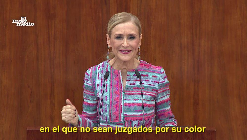 Cristina Cifuentes, vídeos manipulados