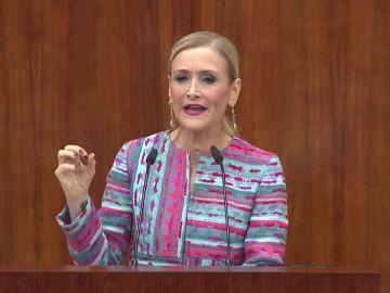 Comparecencia de Cristina Cifuentes en la Asamblea de Madrid