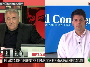 El periodista de 'El Confidencial' José María Olmo