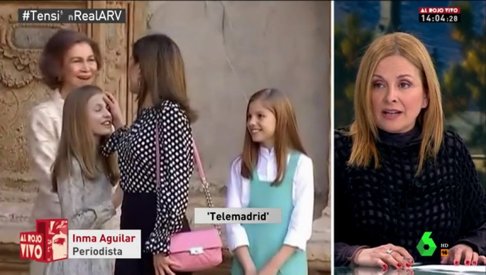 Inma Aguilar, amiga de la reina Letizia