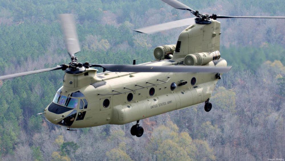 Helicóptero CH-47F