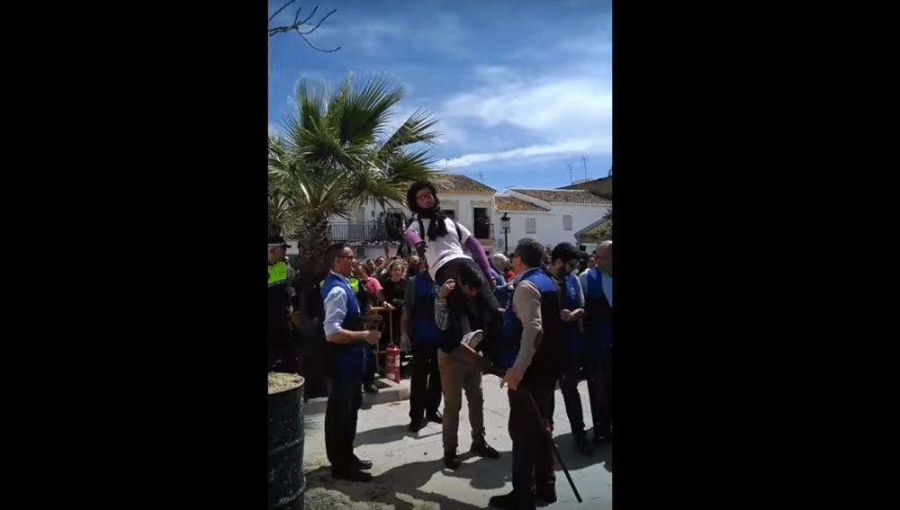 Quema del Judas en Coripe