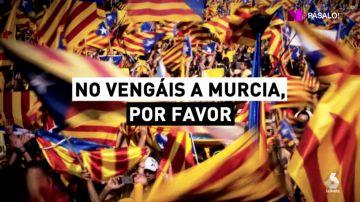 Por el soterramiento del AVE, pero no por la independencia: Murcia no quiere el apoyo de los soberanistas catalanes