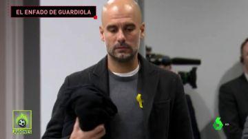 GUARDIOLA 'EXPLOTÓ' CONTRA LA SEGURIDAD