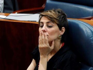 Ruiz-Huerta, portavoz de Podemos en la Asamblea de Madrid