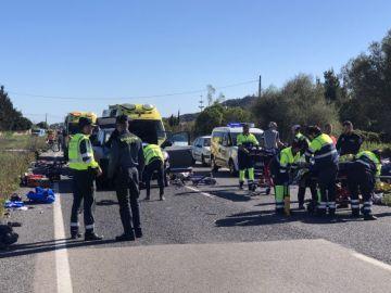 Imagen del suceso en Mallorca