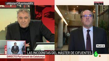 El portavoz del PSOE en la Asamblea de Madrid Ángel Gabilondo