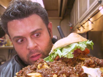 La hamburguesa que nadie se termina