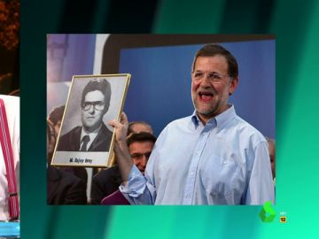 El Gran Wyoming y la orla de Mariano Rajoy