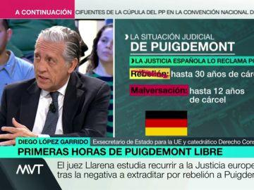 Diego López Garrido en Más Vale Tarde