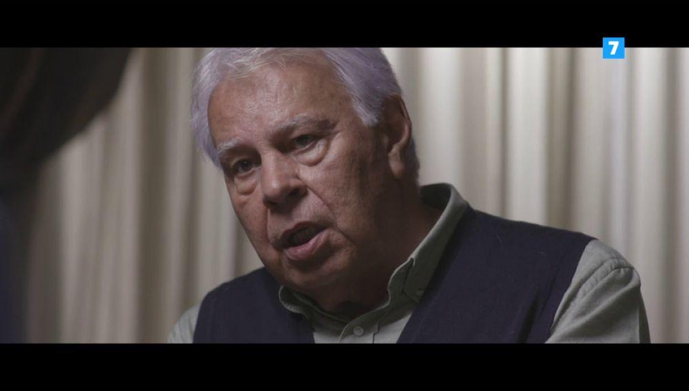 """Felipe González el domingo en Salvados: """"Parece que algunos de los compañeros de Gobierno de Junqueras lo prefieren tener en la cárcel"""""""