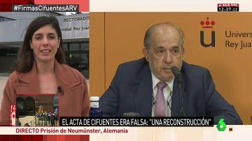 """Raquel Ejerique: """"Todo el mundo sabía que el acto de defensa del máster de Cifuentes no se había producido"""""""
