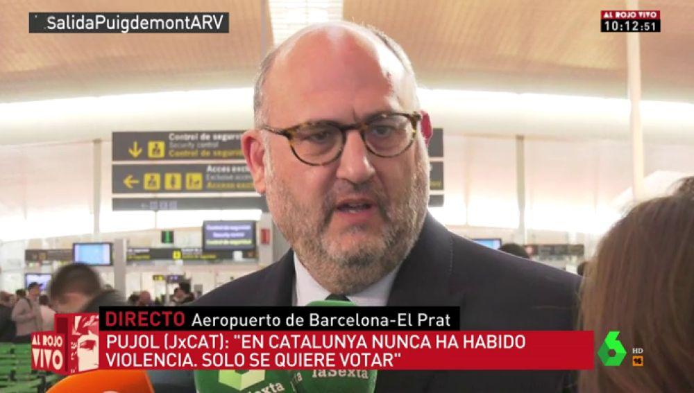 """Eduard Pujol (JxCat): """"La justicia alemana ha dado un bofetón sonoro a la justicia española"""""""