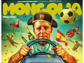 Ortega embraga, la nueva portada de la revista Mongolia