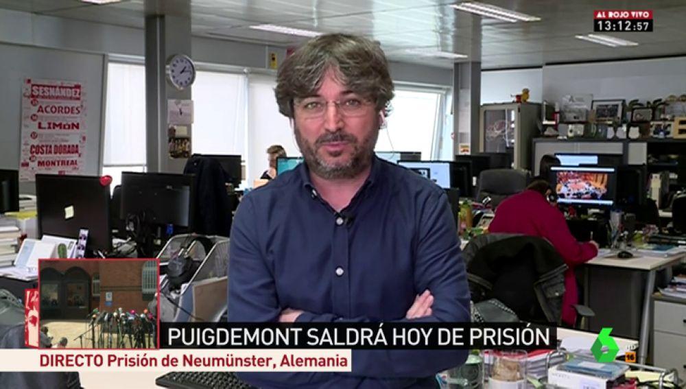 """Jordi Évole: """"Cualquier palabra que se salga del guion de PP y Ciudadanos se considera que no eres español"""""""