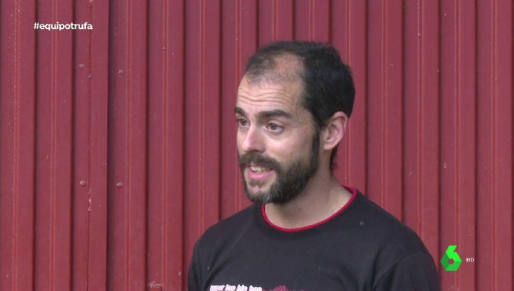 David Capdevilla, detenido por el robo de trufas